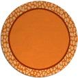 rug #1045408 | round plain rug