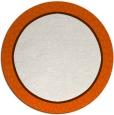 rug #1045414 | round red-orange borders rug