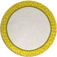 rug #1045426 | round plain white rug