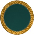 rug #1045464 | round plain rug
