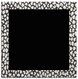 rug #1045874 | square plain white rug