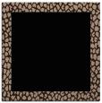 rug #1045882 | square plain beige rug
