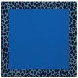 rug #1045902 | square blue rug