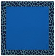 rug #1045902 | square plain blue rug
