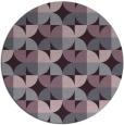 rug #104597 | round purple rug
