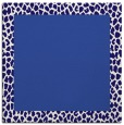 rug #1045974 | square plain blue-violet rug