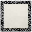 rug #1046014 | square black animal rug