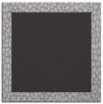 rug #1046086 | square plain orange rug