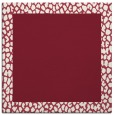rug #1046094 | square pink borders rug