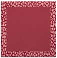 rug #1046098 | square pink borders rug