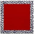 rug #1046122 | square red animal rug
