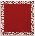 rug #1046130 | square red animal rug