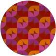 rug #104615 | round natural rug