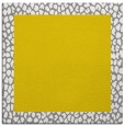 rug #1046194 | square plain white rug