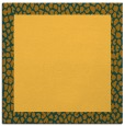 rug #1046198 | square plain light-orange rug