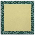 rug #1046202 | square yellow rug