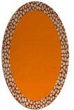 rug #1046239 | oval borders rug