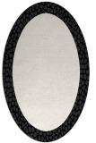 rug #1046245 | oval plain rug