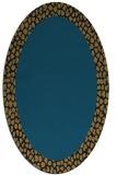rug #1046268   oval plain rug