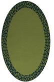rug #1046285 | oval borders rug