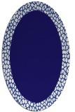 rug #1046345 | oval borders rug