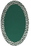 rug #1046374 | oval plain rug