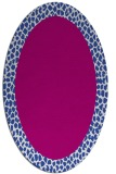 rug #1046437 | oval borders rug