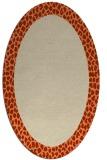 rug #1046453   oval plain rug