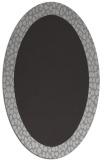 rug #1046454 | oval orange rug