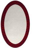 rug #1046491 | oval plain rug