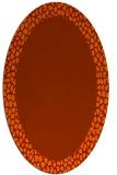 rug #1046496 | oval borders rug