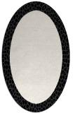rug #1046526   oval black borders rug