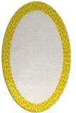 rug #1046530 | oval white borders rug