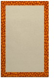 rug #1046606 |  orange animal rug