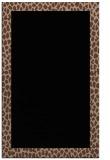 rug #1046622 |  black animal rug