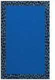 rug #1046638 |  plain blue rug