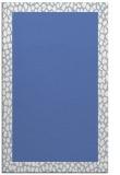 rug #1046654 |  plain blue rug