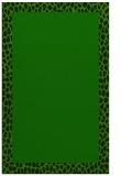 rug #1046666 |  plain green rug