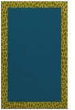rug #1046686 |  plain blue-green rug