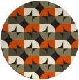rug #104669 | round black natural rug