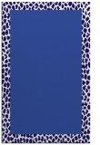 rug #1046710    plain blue-violet rug