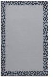 rug #1046718 |  blue-violet borders rug