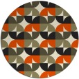 rug #104672   round natural rug