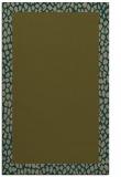 rug #1046722 |  mid-brown borders rug