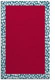 rug #1046726 |  plain red rug