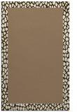 rug #1046762 |  beige animal rug