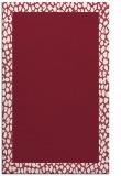 rug #1046830 |  plain pink rug