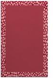 rug #1046834 |  plain pink rug