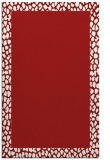 rug #1046866 |  red borders rug
