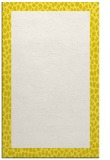 rug #1046898 |  plain white rug
